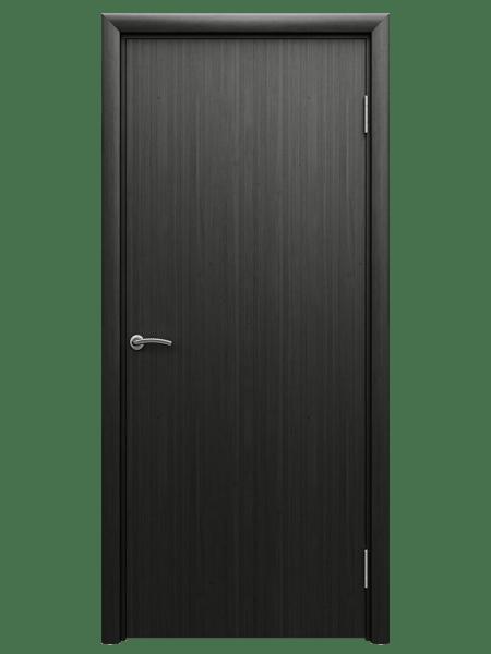 Влагостойкая пластиковая дверь цвета венге Aquadoor