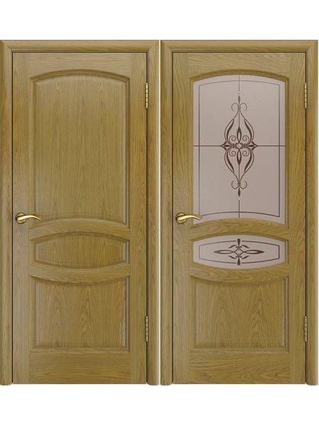 Купить дверь Аврора-2 дуб