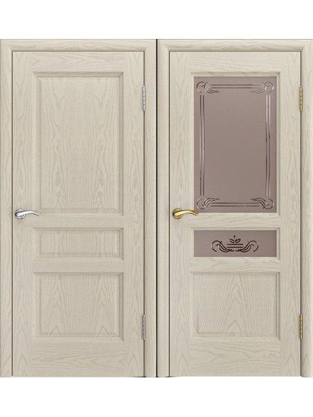 Купить дверь Джаз ясень жемчуг