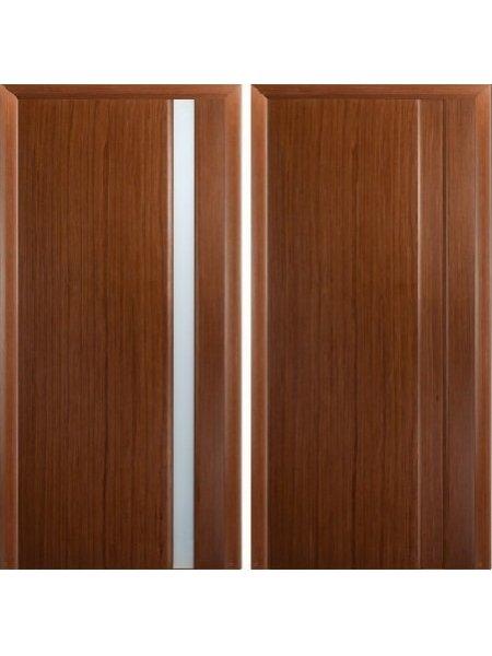 Купить дверь Модерн-1 темный орех