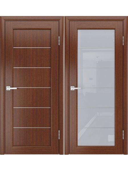 Купить дверь Модерн-3 темный орех