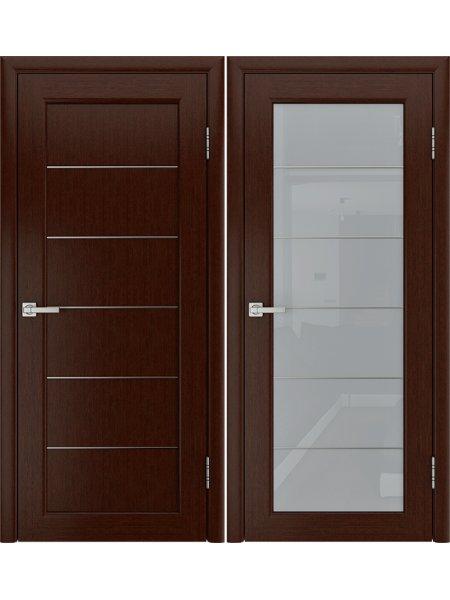 Купить дверь Модерн-3 венге