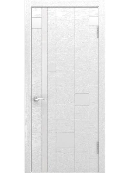 Двери ульяновские Арт-1 ясень белая эмаль купить в Москве