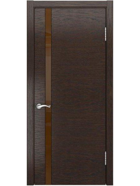 Стильные двери Арт-3 мореный дуб
