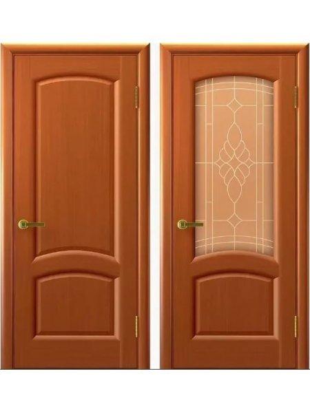 Двери ульяновские Лаура темный анегри купить в Москве