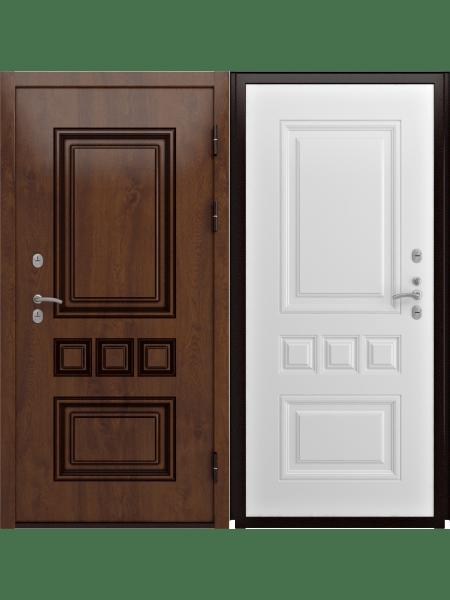 Ульяновская металлическая дверь с терморазрывом Luxor Аура