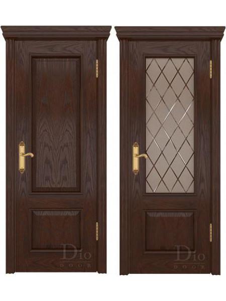 Купить дверь Цезарь 1 американский дуб коньячный от производителя DioDoor