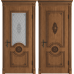 Greta Honey Classic PB классического стиля двери в экошпоне с патиной