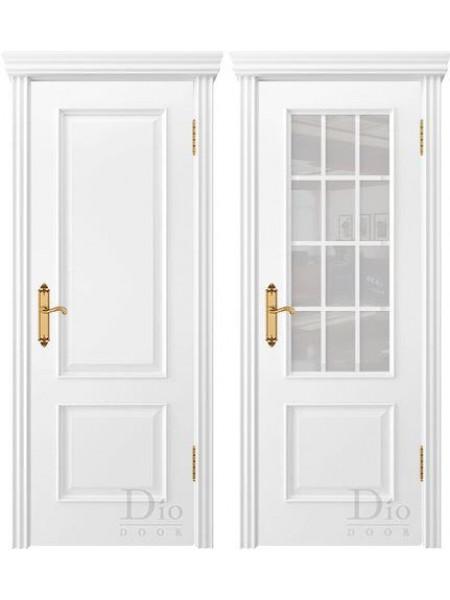 Купить дверь Криста-1 эмаль белая от производителя DioDoor