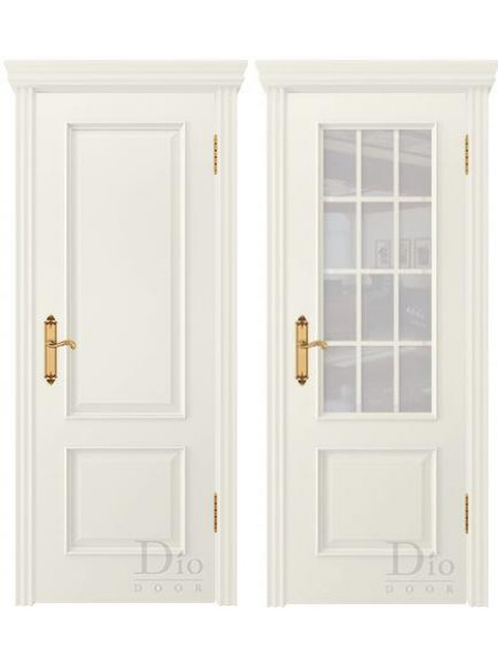 Купить дверь Криста-1 эмаль жасмин от производителя DioDoor