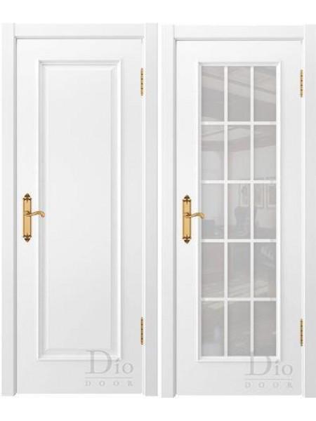 Купить дверь Криста-2 эмаль белая от производителя DioDoor