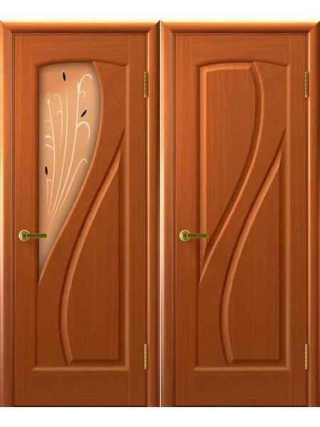 Двери ульяновские Мария темный анегри купить в Москве