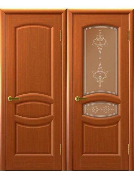 Двери ульяновские Анастасия темный анегри купить в Москве
