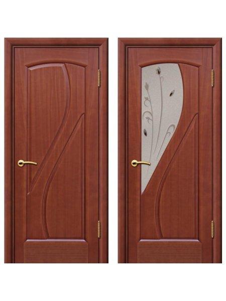Двери ульяновские Дионит темный анегри купить в Москве