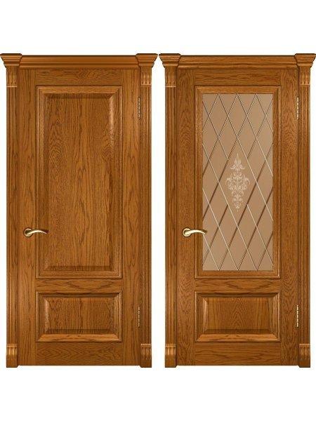 Межкомнатная дверь Фараон 1 дуб золотистый