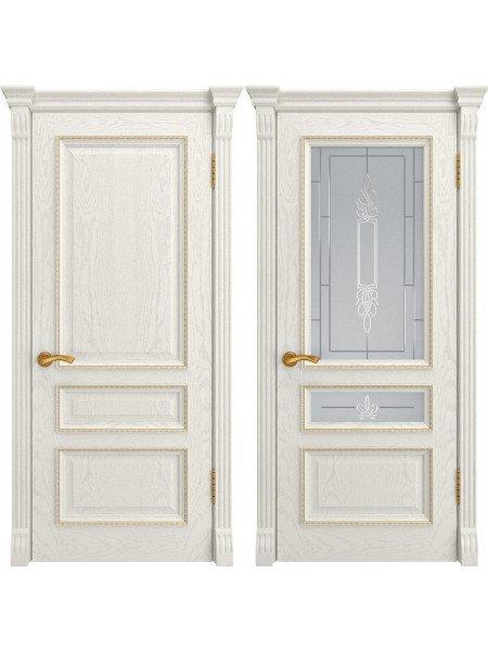 Дверь Фемида-2 дуб RAL9010