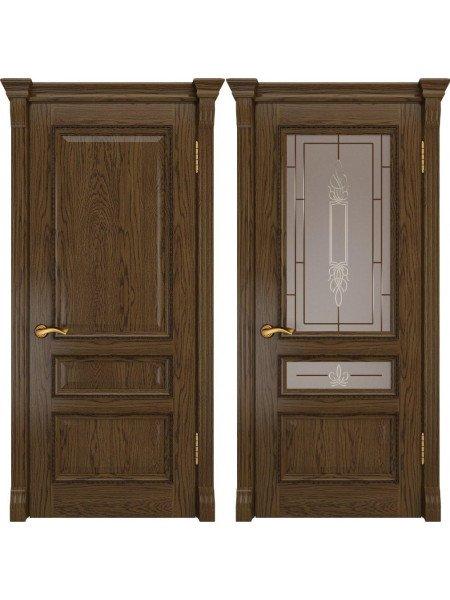 Дверь Фемида-2 светлый мореный дуб