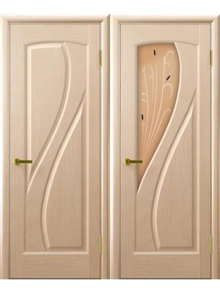 Двери ульяновские Мария беленый дуб купить в Москве