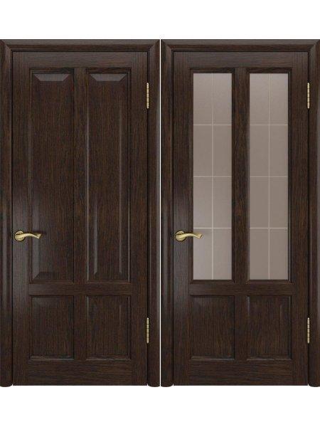 Дверь Титан-3 мореный дуб