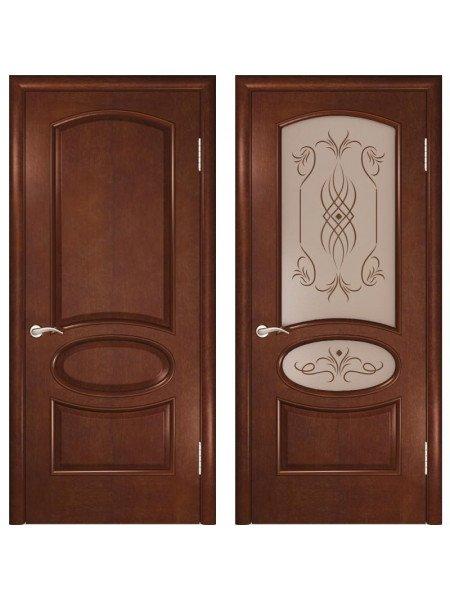 Волжские двери Жемчужина-2 анегри шоколад купить в Москве
