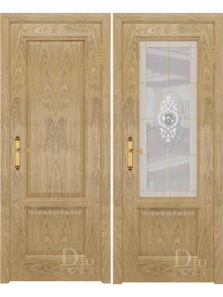 Купить дверь Онтарио-1 ФС дуб американский натуральный от производителя DioDoor