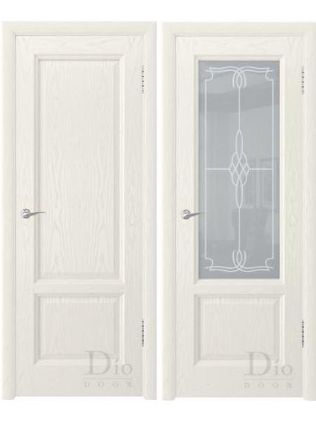 Купить дверь Онтарио-1 ФС ясень жасмин от производителя DioDoor