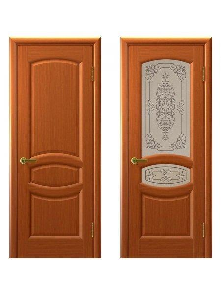 Двери ульяновские Топаз темный анегри купить в Москве
