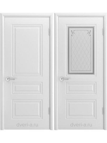 Трио Грейс В1 белая эмаль