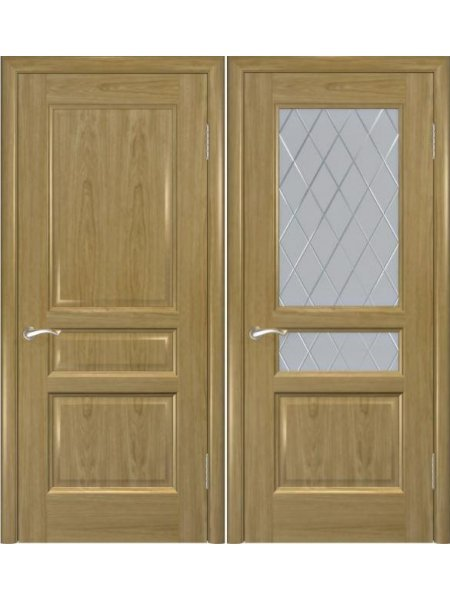 Двери ульяновские от производителя Яшма дуб натуральный купить в Москве